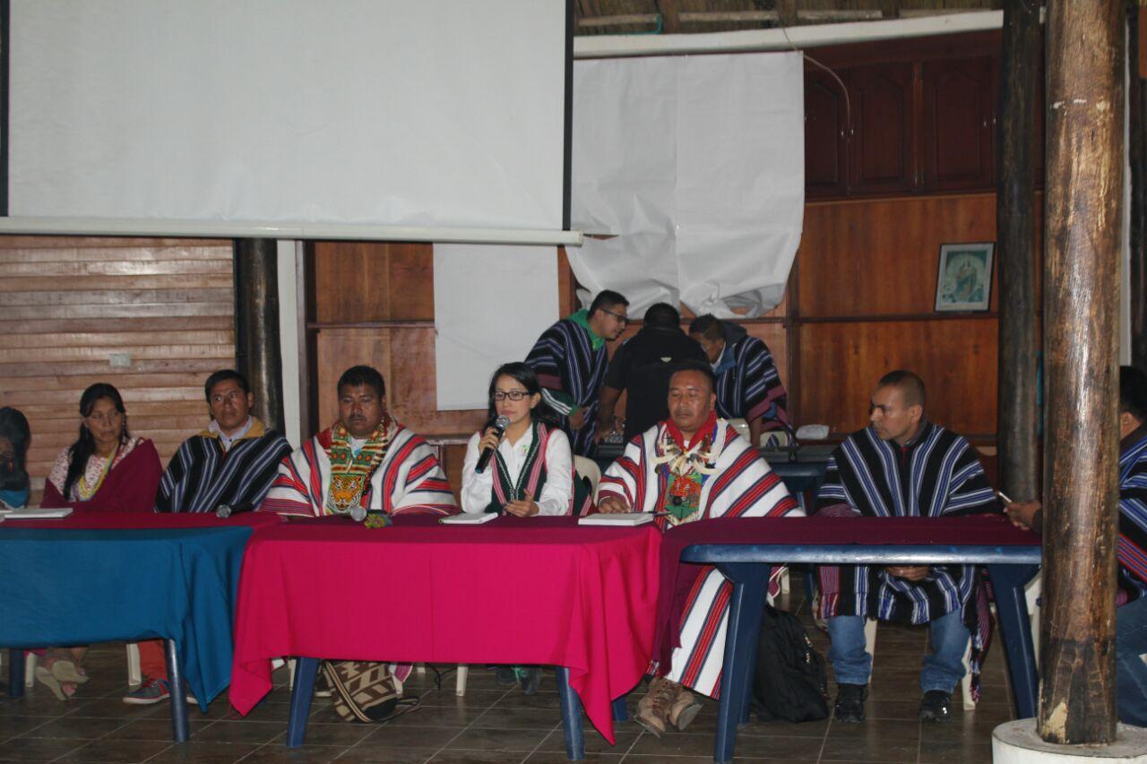 Gobernadora ratificó apoyo a Gobernadores Indígenas del Valle de Sibundoy