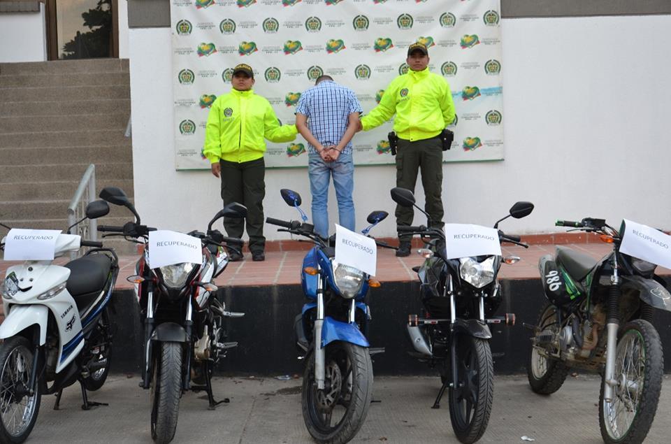 Recuperan cinco motocicletas hurtadas en Putumayo