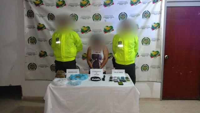 Capturada una mujer con mas de 2400 dosis de estupefacientes