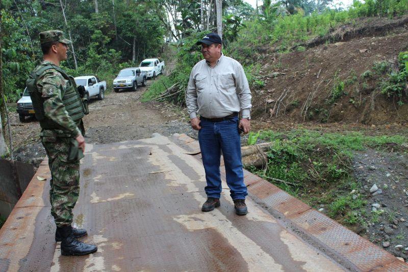 Habitantes de 'La Guisita' en Putumayo  estrenan puente