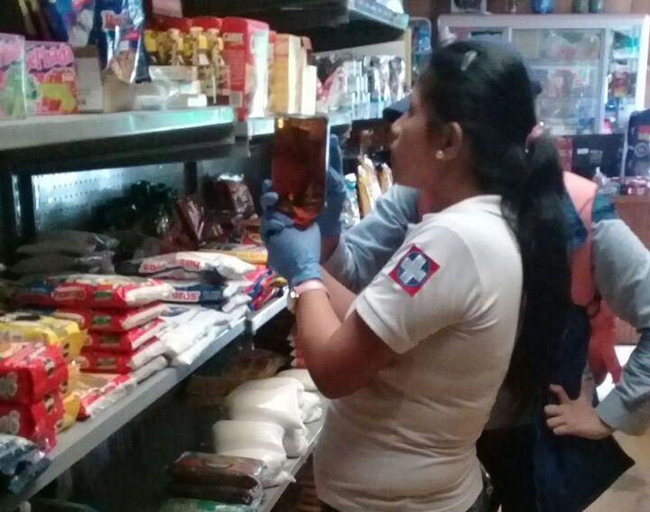 Control sanitario a establecimientos comerciales adelantó la Secretaría de Salud Departamental