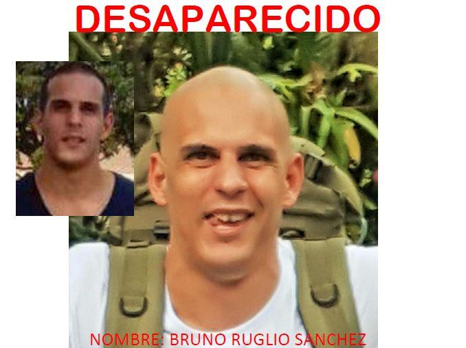 Cinco Millones de Pesos de recompensa a quien traiga de regreso a Bruno Ruglio
