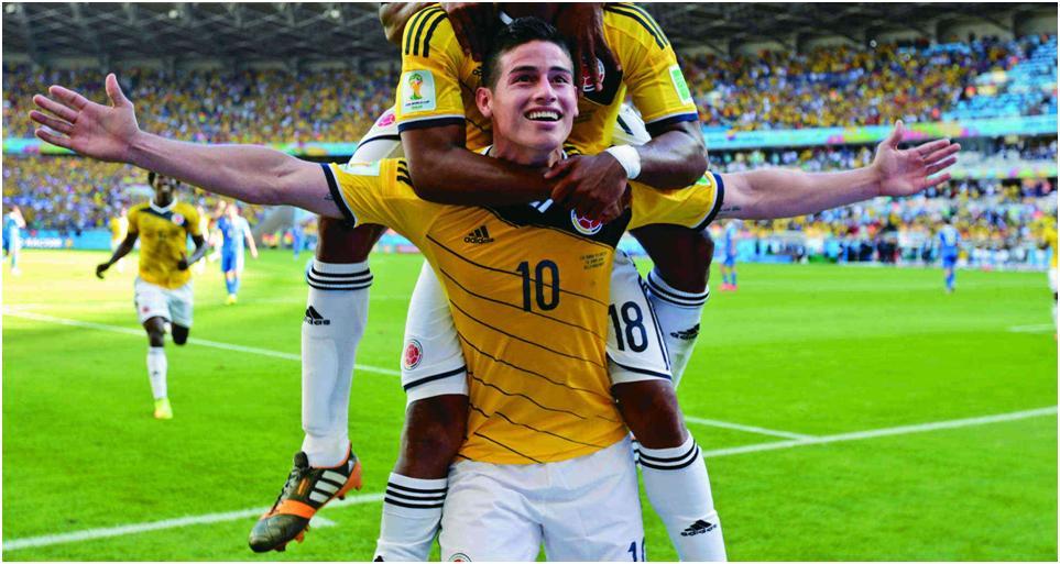 Colombia quiere 'bailar' en Rusia