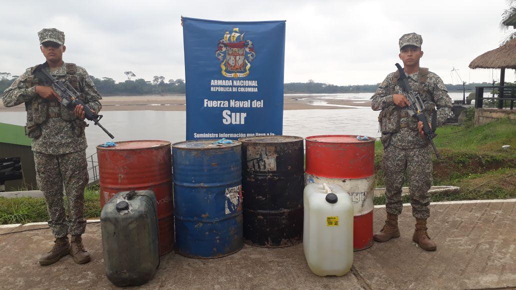 Desmantelados dos laboratorios e incautado combustible en el sur del País