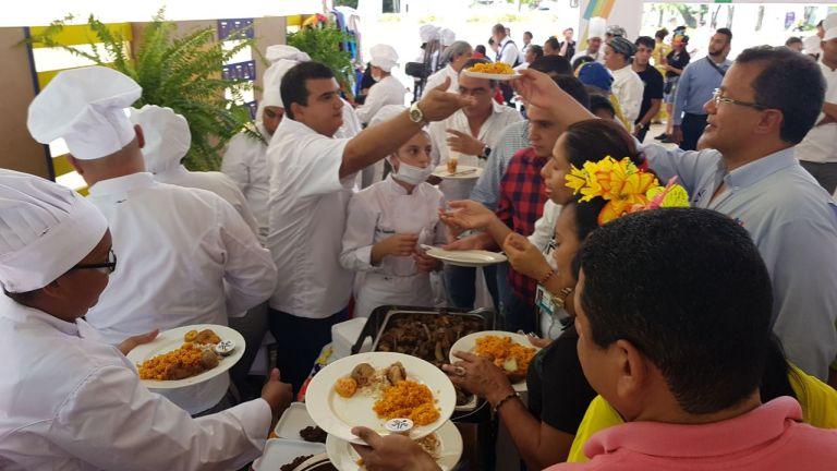 El VIII Festival Gastronómico del SENA reunió la cocina tradicional de las regiones de Colombia