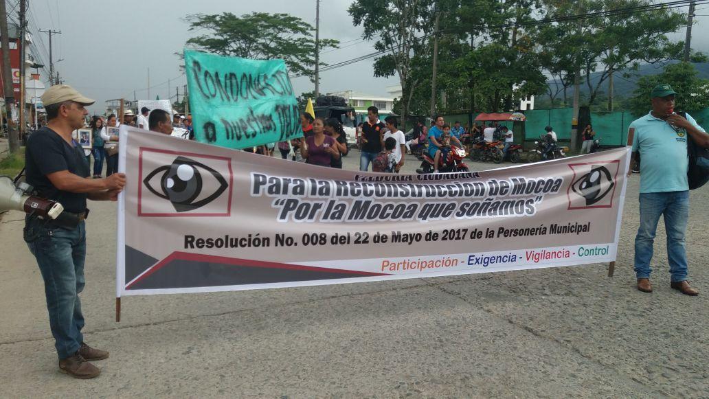 Gobierno Nacional se Impone ante Veedurías para la Reconstrucción de Mocoa en el Putumayo.