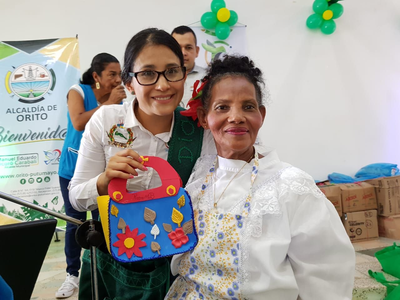 Adultos mayores de Orito realizan muestra cultural, artesanal y productiva