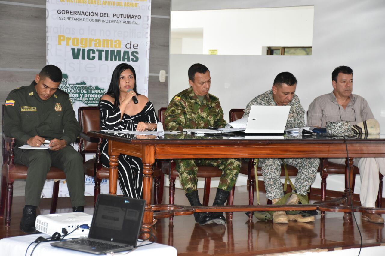 Comité Departamental de Justicia Transicional Extraordinario Ampliado