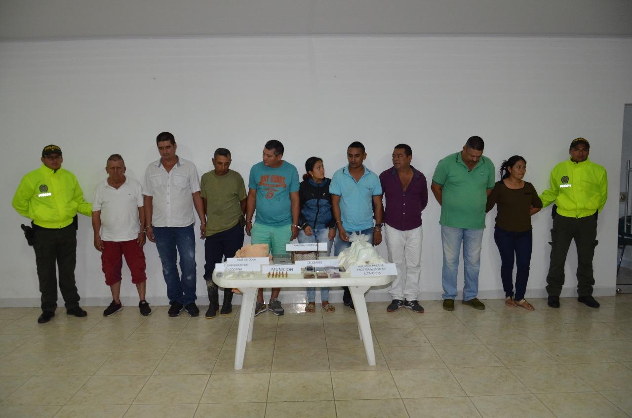 """En la operación se logra la desarticulación del Grupo delincuencial """"LOS ZORROS"""""""
