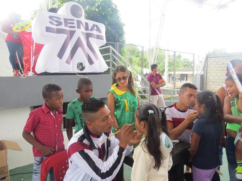 La articulación de Entidades Públicas y Privadas llevaron sonrisas y diversión a Puerto Limón en el marco del Día del Niño.