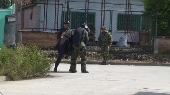 En Villagarzón, Explosivo colocado por no pago de extorsión