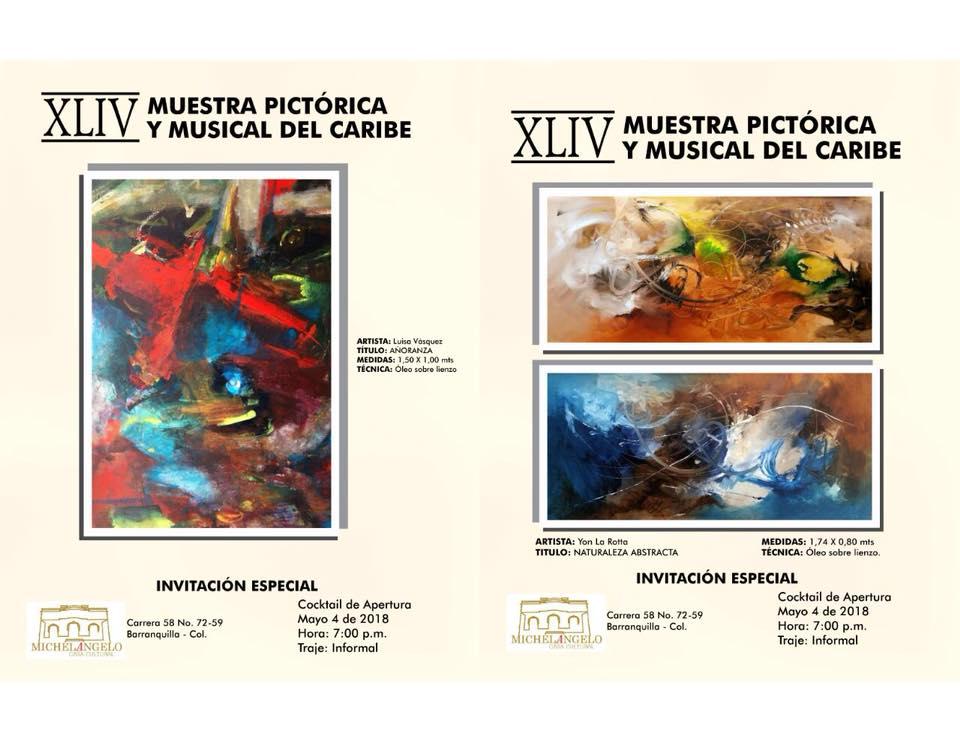Artista Putumayense expone en Barranquilla