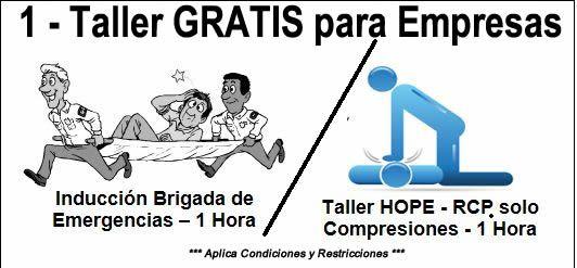 Clasificados – Para el Putumayo – Taller GRATIS en Primeros Auxilios / Brigada de Emergencias