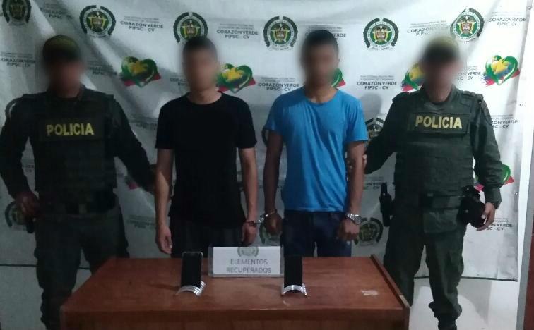 En Puerto Asís, capturadas dos personas por receptación de celulares hurtados