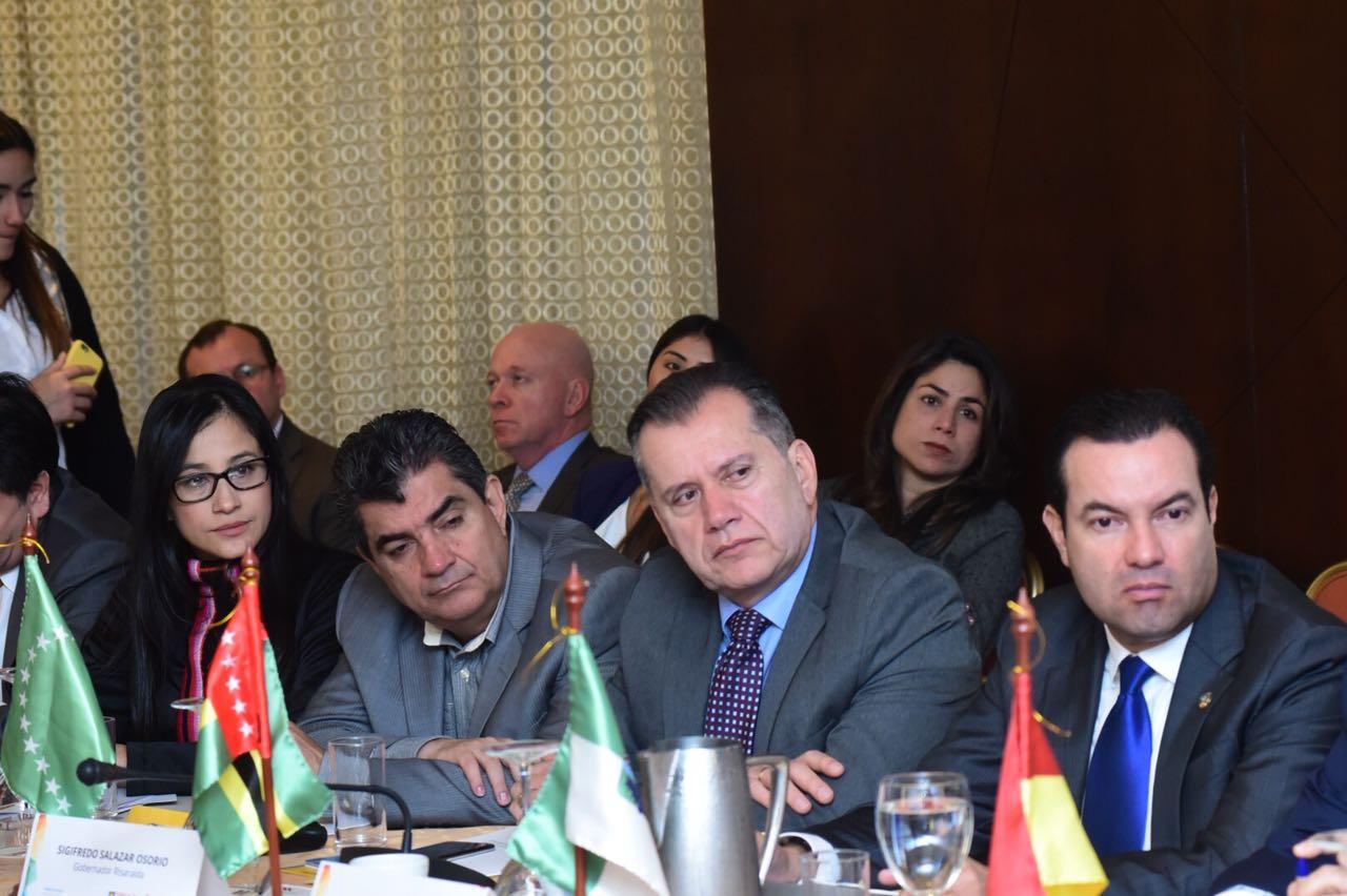 Gobernadora participa de la Cumbre de Gobernadores 'Seguridad y Economías Ilegales en los Territorios'