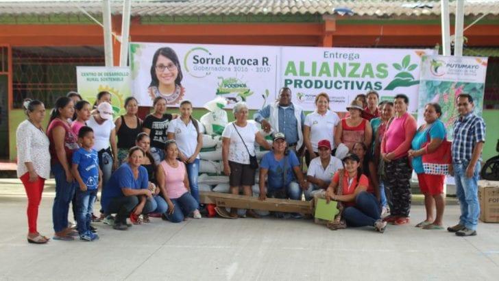 Mujeres de Alianza Productiva en Puerto Caicedo fortalecerán cultivos de pimienta