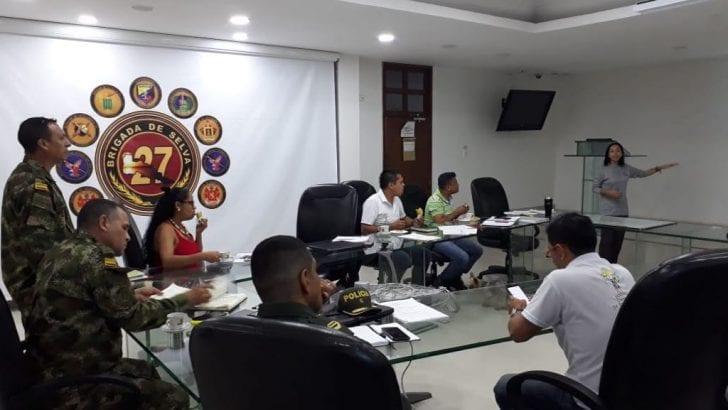 La Unidad de Restitución de Tierras en Putumayo establece cronograma de intervención para segundo semestre de 2018