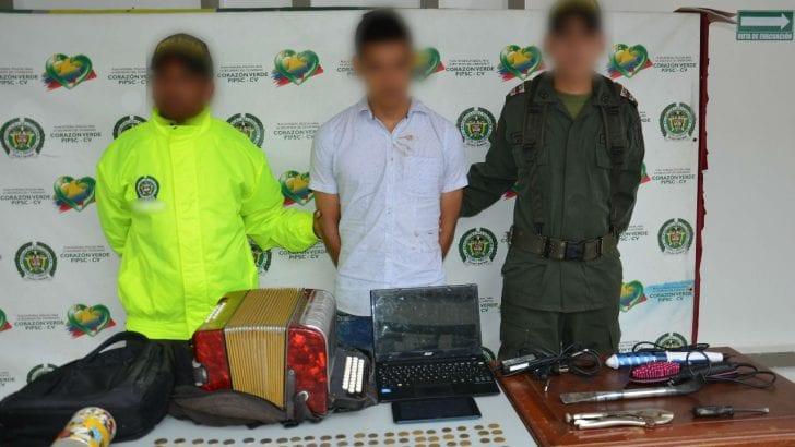 En Mocoa, capturada en flagrancia una persona por hurto a residencia