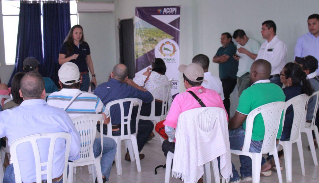 Gobernadora gestiona importantes recursos para fortalecer sector cacaotero y lácteo del Putumayo