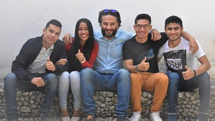 Uniautónomos en representación de Colombia en el Hult Prize