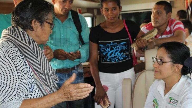 El Bus de la Participación en Villagarzón