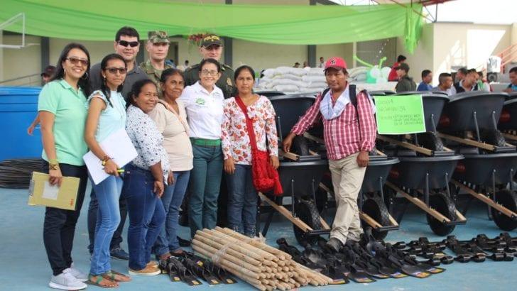 En Villagarzón 424 familias reciben equipos e insumos de Asambleas de Presupuesto Participativo