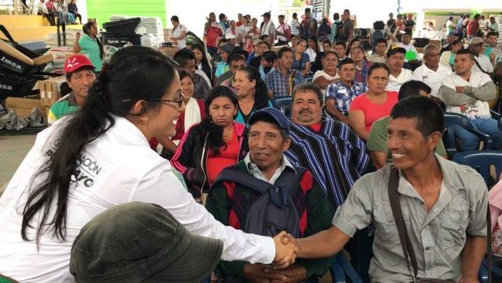 Más familias se benefician con entrega de Asambleas de Presupuesto Participativo, esta vez en Valle del Guamuez