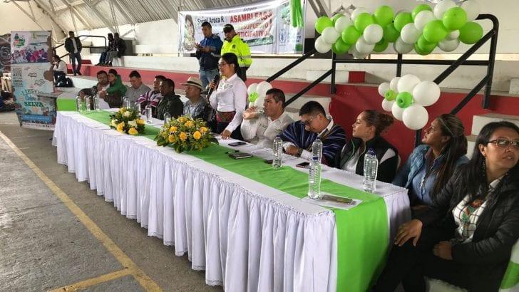 En el Alto Putumayo, Gobernadora finaliza entrega de insumos y equipos de Asambleas de Presupuesto Participativo