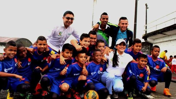 """inició con a la apertura el Festival de Escuelas Deportivas denominado """"Mundialito"""" en Mocoa, Putumayo"""