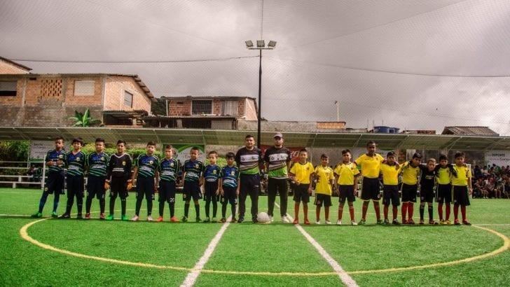 """Hoy se cumplió la final del """"Mundialito 2018"""" en Mocoa, Putumayo"""