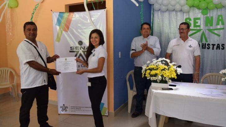 Motoristas de embarcaciones menores de Puerto Limón, fueron certificados por el SENA Putumayo