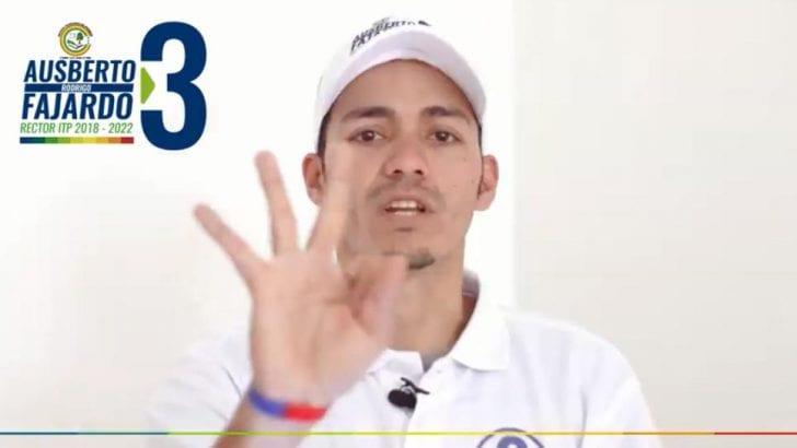 Ausberto Rodrigo Fajardo – Rector ITP 2018 / 2022
