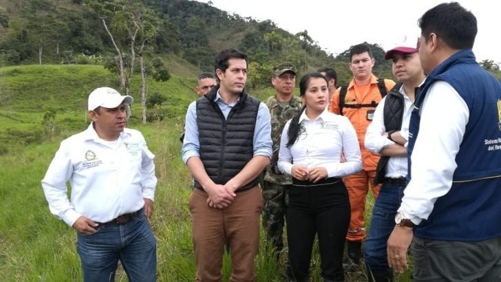 Conclusiones sobrevuelo de Ministros, Gobernadora y autoridades en Mocoa