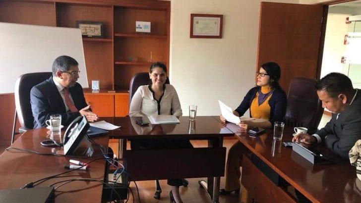 Gobernadora del Putumayo y Alcalde de Puerto Leguízamo realizan gestiones ante el MinMinas