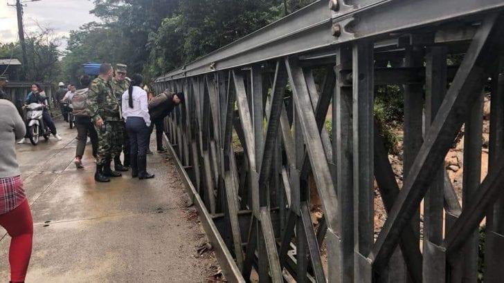 Cierre de Puente vehicular en vía Mocoa – Pitalito