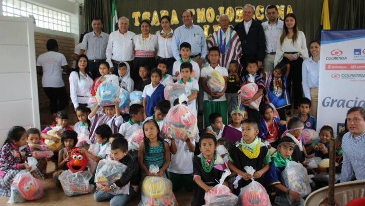 Gobernación participó en inauguración de aulas para escuela Camentsa Biyá de Mocoa