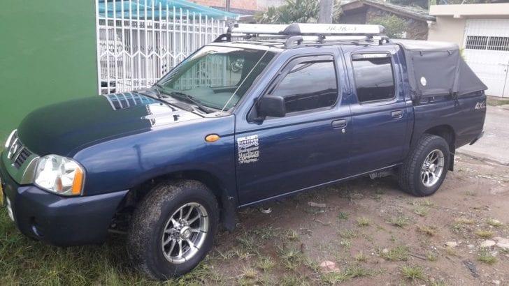 Se vende o permuta – Camioneta Nissan Frontier Modelo 2015