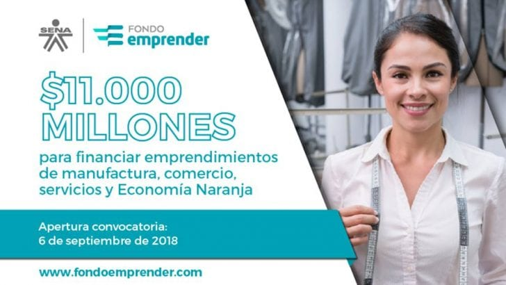 $11.000 millones disponibles para emprendedores colombianos