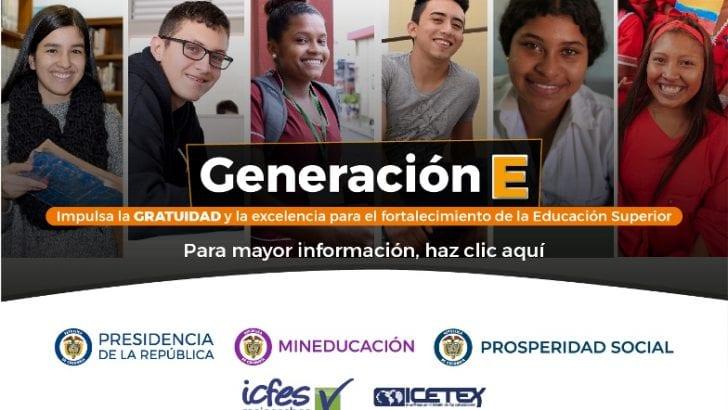 Gobierno lanzó 'Generación E', el nuevo programa de educación superior que beneficiará a 336 mil estudiantes de todo el país durante el cuatrienio