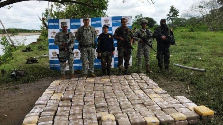 En operaciones combinadas con Perú y Ecuador se propicia duro golpe la narcotráfico en el sur