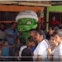 Jornada de limpieza y recolección de residuos solidos en el río Picudo – Puerto Caicedo