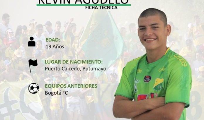 Kevin Agudelo, otro putumayense en el FPC