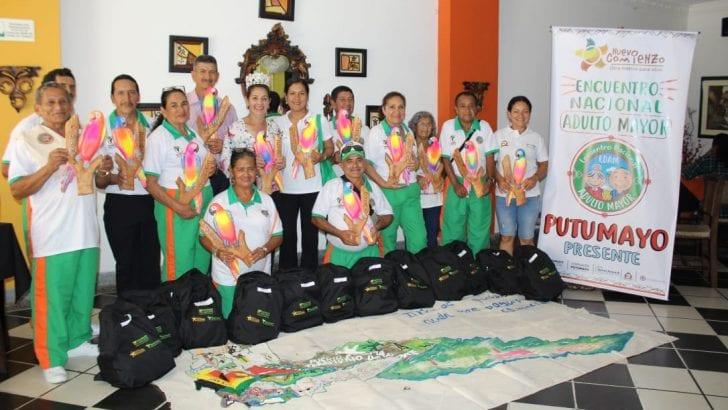 Gobernación despidió a delegación de Adultos Mayores que viajó a Nariño