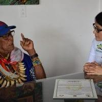 Gobernación del Putumayo reconoce el legado cultural y espiritual del Taita Querubín Queta