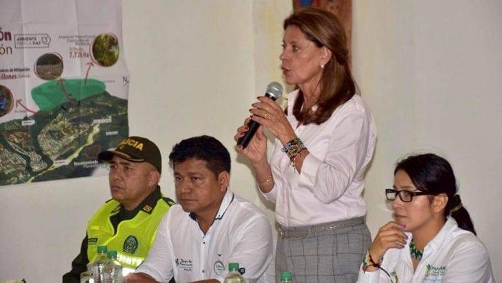Gobernadora presente en diálogo de Vicepresidenta con comunidad de Mocoa