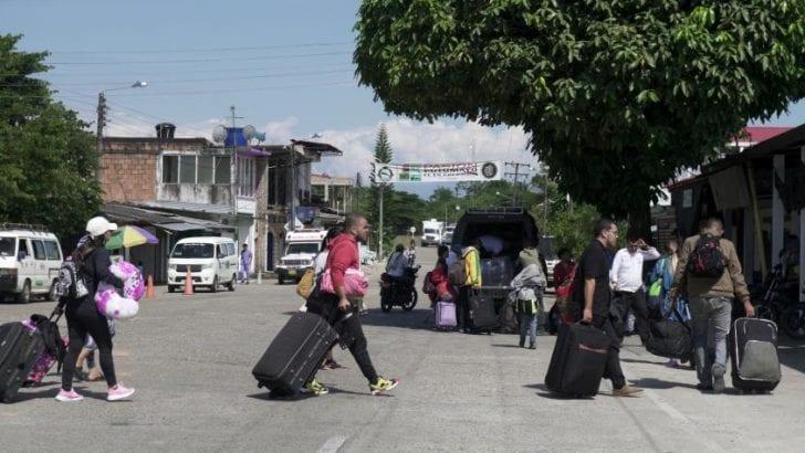 Ecuador y Colombia, una frontera que revive por los venezolanos