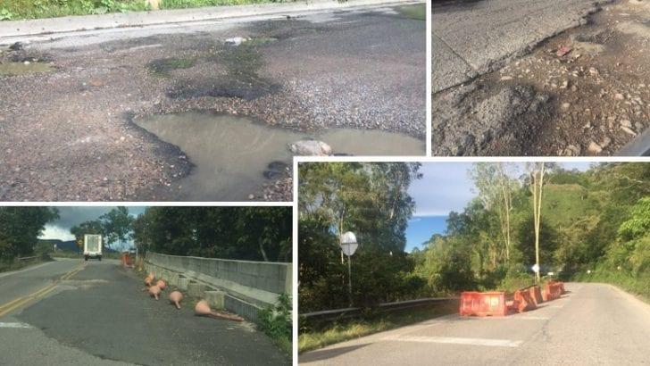 Usuarios de la vía Pitalito-Mocoa reclaman a Aliadas por mal estado de la carretera
