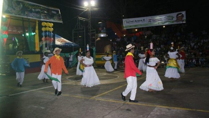 Danzas del Ecuador en encuentro Trifronterizo de Leguízamo