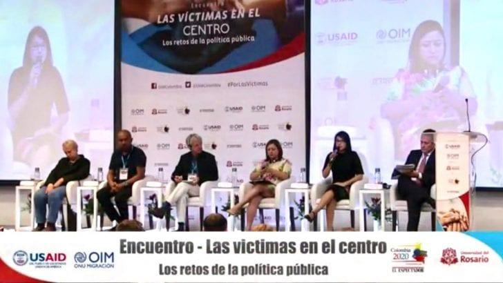 Gobernadora habla por las víctimas del Putumayo