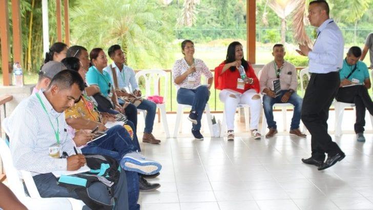 Taller de superación a la violencia de género en Putumayo